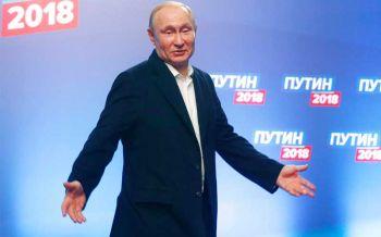หมีขาวสมใจ \'ปูติน\'สร้างประวัติศาสตร์ผู้นำรัสเซีย4สมัย (ประมวลภาพ-ชมคลิป)