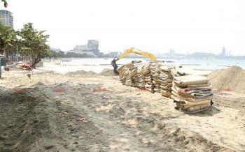 เจ่าท่าพัทยาเผยแหล่งที่มาทรายที่ใช้เสริมชายหาด ยันคุณสมบัติใกล้เคียงกัน