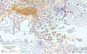 ประเทศไทยอากาศร้อนโดยทั่วไป หลายพื้นเตรียมรับมือพายุฤดูร้อน