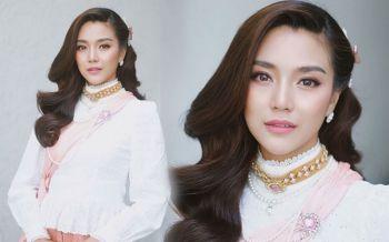 งดงาม! \'ปราง\'อวดโฉมสวยสง่าในชุดไทยสมัยรัตนโกสินทร์