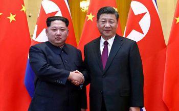 \'คิมจองอึน\'จับมือ\'สีจิ้นผิง\'ชื่นมื่น หวังฟื้นสัมพันธ์หลังถูกคว่ำบาตรหนัก