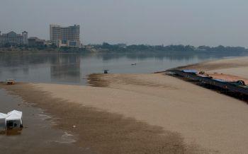 หน้าร้อนนี้หนองคายเตรียมเปิดหาดทรายขาวเล่นน้ำ-ชมวิวฝั่งโขงเวียงจันทน์
