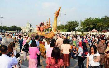 ในหลวงโปรดเกล้าฯจัดงาน  มหาสงกรานต์  เถลิงศกสุขสันต์ตำนานไทย