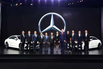 'เมอร์เซเดส-เบนซ์'ส่งรถยนต์หรูกลุ่มดรีมคาร์  The new CLS,The E-Class CoupéและThe GLC Coupé  พร้อมด้วยThe S-Classรุ่นประกอบในประเทศบุกมอเตอร์โชว์