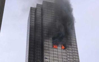 ระทึก!ไฟไหม้'ทรัมป์ ทาวเวอร์'ดับเพลิงเจ็บ3 'ทรัมป์-ครอบครัว'ไม่อยู่ในตึก