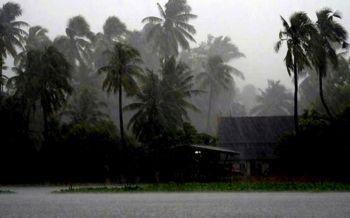 ปภ.แจงรับผลกระทบจากวาตภัย25จว./8เม.ย.ทั่วไทยยังมีฝนฟ้าคะนอง
