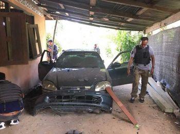 เผยคนร้ายใช้ระเบิดแสวงเครื่องผูกใต้ท้องรถ อส.เมืองยะลาบึ้มขาขาด