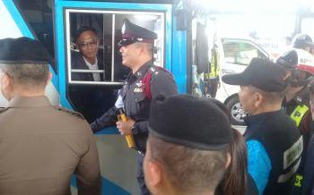บุรีรัมย์ตรวจเข้มสารเสพติด-แอลกอฮอล์คนขับรถโดยสารตลอดช่วงสงกรานต์