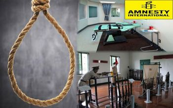 \'แอมเนสตี้\'เผยไทยไม่ประหารชีวิตมา9ปีแล้ว รอลุ้นยกเลิกโทษถาวร