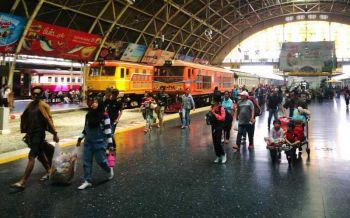 การรถไฟฯจัด11ขบวนพิเศษ รองรับคลื่นมหาชนทะลักกลับกรุง