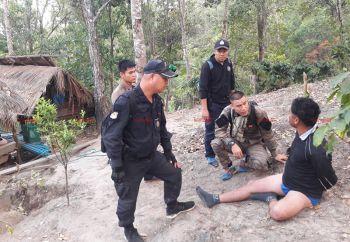 จนท.อมก๋อยบุกจับยาบ้ากว่า4แสนเม็ด ที่กระท่อมกลางป่าเชียงใหม่