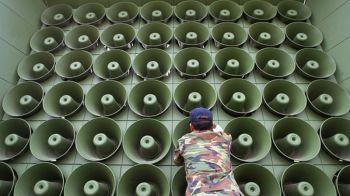 \'เกาหลีใต้\'หยุดกระจายเสียงต้าน\'โสมแดง\' หวังกระชับมิตรก่อนการหารือ2ผู้นำ