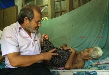 เศรษฐีใจบุญ!\'จิมมี่ ชวาลา\'ยื่นมือช่วยยายวัย65 ป่วยเนื้องอก-อยู่บ้านลำพัง