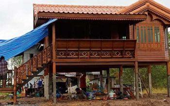 สวยงาม! เผยภาพบ้านใหม่ของยายภรรยา\'ตาซาเล้ง\' จากเงินบริจาคของคนไทย