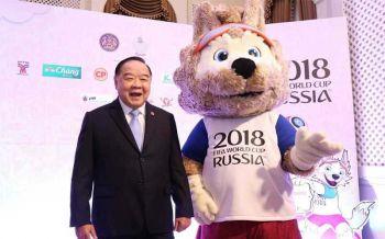 ยิงสดบอลโลกทุกนัด  คนไทยเฮ!ดูฟรีผ่าน3ช่องโทรทัศน์  บิ๊กป้อมขอบคุณรัฐ-เอกชน