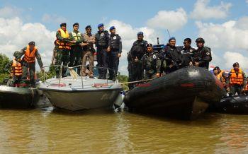สร้างความมั่นคง!\'ไทย-มาเลย์\'เปิดยุทธการตรวจเข้มแม่น้ำโก-ลก