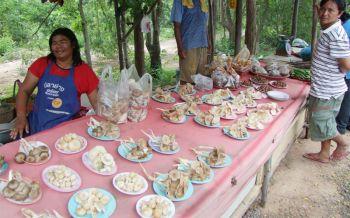 ชาวบ้านแห่เก็บเห็ดขายสร้างได้ช่วงหน้าฝน ปชช.นิยมเห็ดป่าเชื่ออร่อยเด็ดกว่าเห็ดฟาร์ม