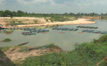พายุฝนถล่มบุรีรัมย์หลายระลอก น้ำมูลยังต่ำเกษตรกรไม่เสี่ยงเลี้ยงปลากระชัง