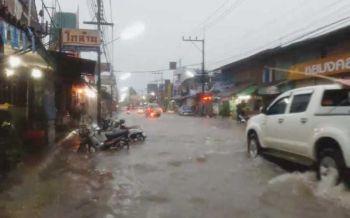ฝนตกชุ่มฉ่ำทั่วไทย ภาคเหนือหนักสุด70% กทม.60%