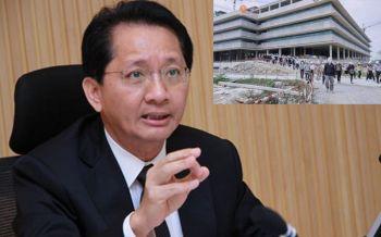 \'ธีระชัย\'ติงอุปกรณ์\'รัฐสภา\' สเปคสูงเกินจำเป็น ไม่เหมาะกับการเมืองสังคมไทย