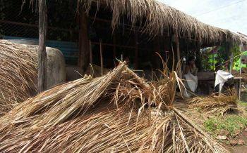 'ไพรหญ้า'ภูมิปัญญาจากรุ่นสู่รุ่น งานทำมือทำเงิน'แม่บ้านโสกโดน'