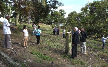 รองอธิบดีเกษตรลงพื้นที่แก้ปัญหาโรคระบาดต้นทุเรียนเกาะสมุย