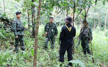 ปะทะเดือด!ทหารพรานลาดตระเวนล่าโจรใต้ เจอกลางป่ายิงกันสนั่น เคลียร์พื้นที่พบ\'ไปป์บอมบ์\'