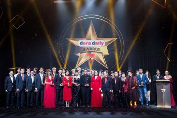ตรีเพชรอีซูซุเซลส์รับรางวัล  ในงานdaradaily Awards ครั้งที่ 7