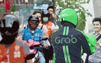 นิด้าโพล ชี้ปชช.พอใจ นั่งวินมอเตอร์ไซค์มากกว่า \'Grab Bike\'