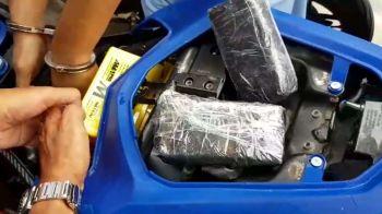 จับเครือข่ายยาบ้าชายแดนใต้ ซุกมาพร้อมบิ๊กไบค์-ยึดได้เกือบ7หมื่นเม็ด