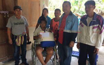 วอนช่วย! สาววัย25ปีอยู่กับพ่อลำพังป่วยหลายโรครุมเร้าเดินไม่ได้ต้องนั่งหลับบนรถเข็น