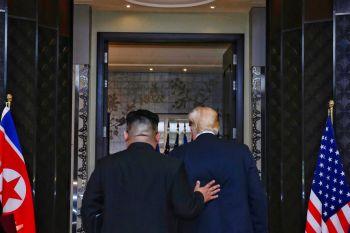 \'ทรัมป์\'พลิกหน้าประวัติศาสตร์ ยัน\'คิม\'ปลดนุกแน่-ยกเลิกซ้อมรบเกาหลีใต้