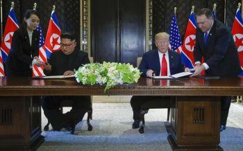 ลงนามปลดนิวเคลียร์-สร้างสันติภาพ  โลกชื่นชม'ทรัมป์-คิม'  เร่งฟื้นความสัมพันธ์2ประเทศ