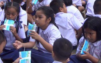 พังงาออกตรวจระบบจัดเก็บขนส่ง\'นมโรงเรียน\'