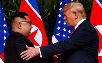 ทรัมป์บอกชาวโลกหลับสบาย  หลังประชุมสุดยอดกับผู้นำเกาหลีเหนือ