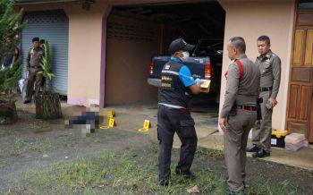 มือปืนโหดจ่อยิงเศรษฐีหนุ่มเมืองชุมพรดับคาบ้านหรู มุ่งปมแค้นมรดกเลือด