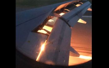 \'บอลโลก\'หวิดโศกนาฏกรรม! เครื่องบินแข้งซาอุฯไฟลุกท่วมกลางเวหา (ชมคลิป)