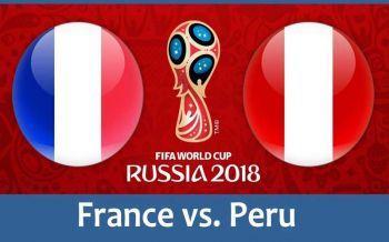 ปรีวิวบอลโลก : 'ฝรั่งเศส – เปรู'