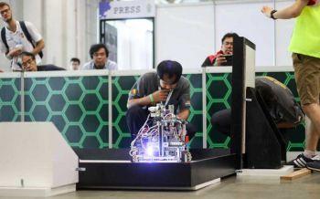 จูนิเปอร์ เน็ตเวิร์คส์สู่การเป็นผู้สนับสนุนระดับโลกของการแข่งขันโอลิมปิกหุ่นยนต์