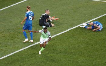 \'มุซ่า\'โชว์!กด2ตุงนำไนจีเรียดับซ่าส์ไอซ์แลนด์ 3ทีมลุ้นตั๋วใบสุดท้ายเกมหน้า