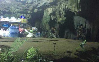 \'บิ๊กแป๊ะ\' สั่งระดมกำลังทุกฝ่ายเร่งช่วยนักเตะเยาวชน-โค้ชติดในถ้ำหลวง