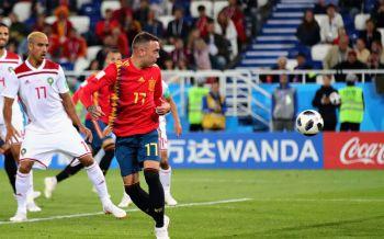 ไฮไลท์บอลโลก สเปน 2-2 โมร็อคโก