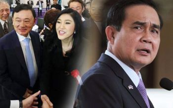 \'บิ๊กตู่\'ของขึ้น! ด่า\'แม้ว-ปู\'เกิดเป็นคนไทยทำไมหนีไปต่างประเทศ