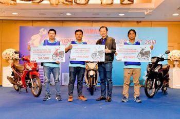 ยามาฮ่า จัดการแข่งขัน FINN ID-SHOP Mechanic Skill Contest