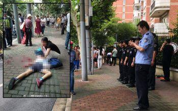 แก้แค้นสังคม! หนุ่มคลั่งไล่แทงคนหน้าโรงเรียนในจีน ตาย2เจ็บ1