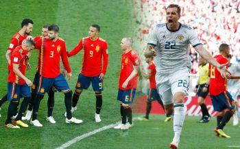 ไฮไลท์บอลโลก : ลุ้นกันเหนื่อย! \'รัสเซีย\'ซัดจุดโทษ เขี่ย\'สเปน\'ตกรอบ