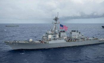 จีนฉุนสหรัฐ แล่นเรือรบผ่าน\'ช่องแคบไต้หวัน\' เตือนอย่าทำลายสันติภาพ
