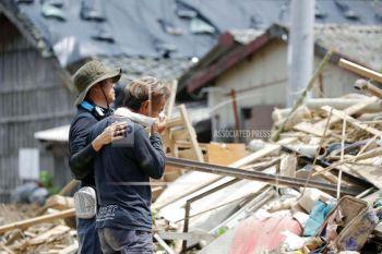 ญี่ปุ่น! 'น้ำท่วม-โคลนถล่ม' ยอดตายพุ่ง157ศพ เร่งช่วยผู้ประสบภัย