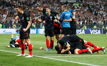 สถิติฝรั่งเศสข่มมิด! นัดชิงแชมป์ฟุตบอลโลก  โครแอตฉลองกันทั้งเมือง