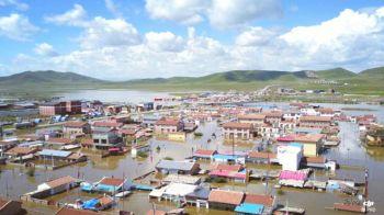 จีนน้ำท่วมใหญ่อพยพคนเรือนแสน